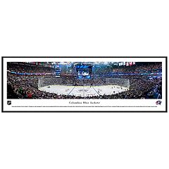 Columbus Blue Jackets Hockey Arena Center Ice Framed Wall Art