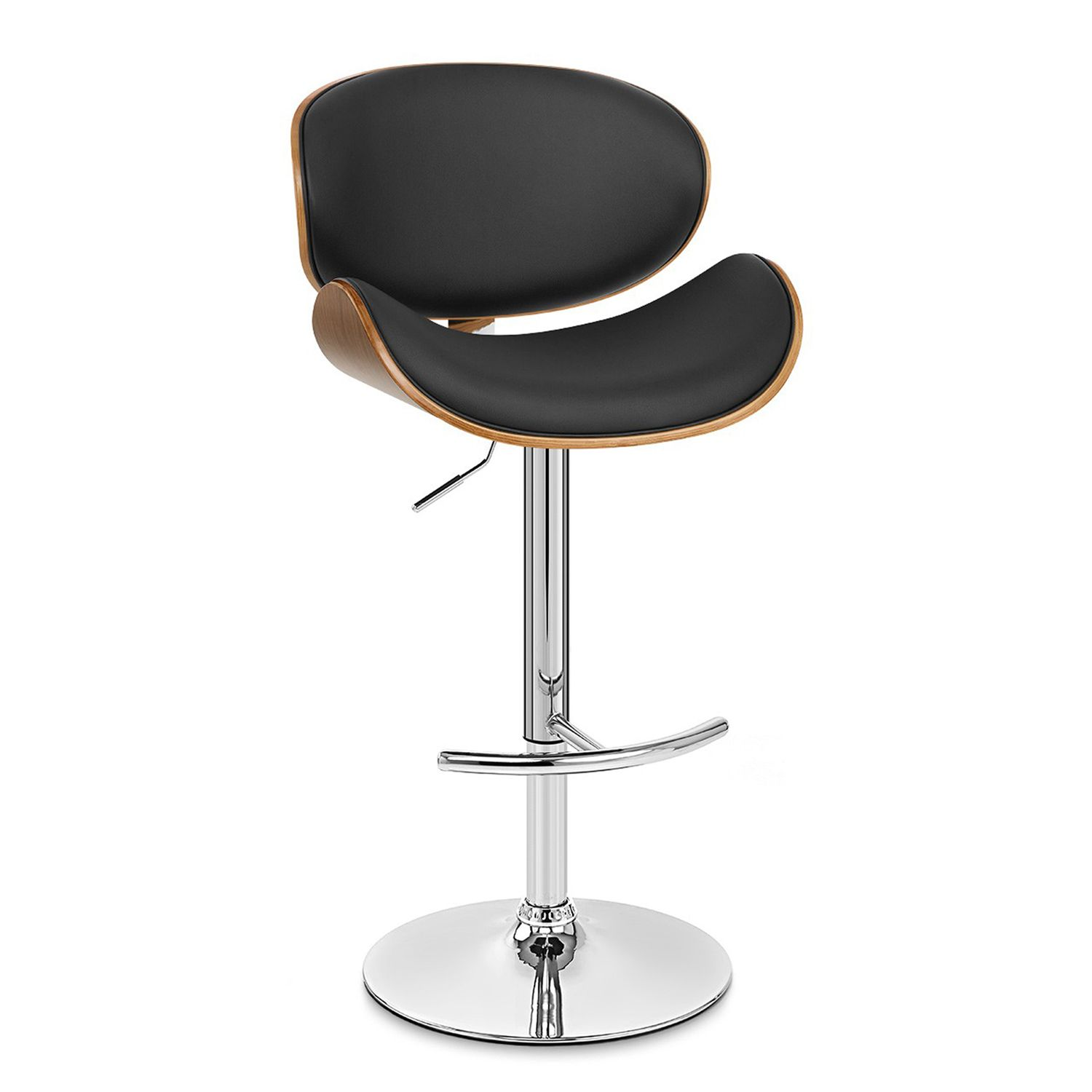 Armen Living Paris Adjustable Swivel Bar Stool. Regular