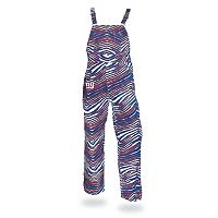 Men's Zubaz New York Giants Bib Overalls