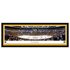 Boston Bruins Hockey Arena Center Ice Framed Wall Art
