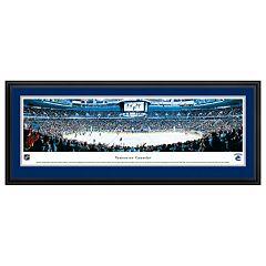 Vancouver Canucks Hockey Arena Framed Wall Art