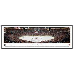 Arizona Coyotes Hockey Arena Center Ice Framed Wall Art