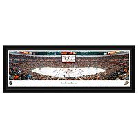 Anaheim Ducks Hockey Arena Center Ice Framed Wall Art