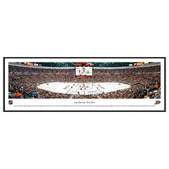 Anaheim Ducks Hockey Arena Center Ice Framed Wall Art