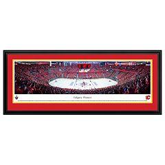 Calgary Flames Hockey Arena Framed Wall Art
