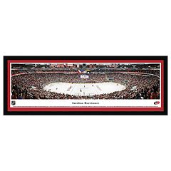 Carolina Hurricanes Hockey Arena Framed Wall Art