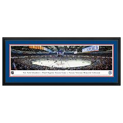 New York Islanders Hockey Arena Final Game Framed Wall Art