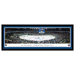 New York Islanders Hockey Arena 1st Game at Barclays Framed Wall Art