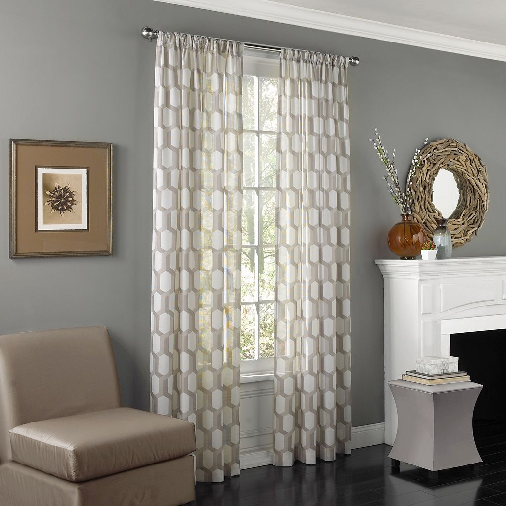 eclipse Candice UV Light-Filtering Sheer Curtain