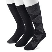 Men's Marc Anthony Argyle Heathered Dress Socks