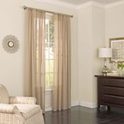 eclipse Chelsea UV Light-Filtering Sheer Window Curtain