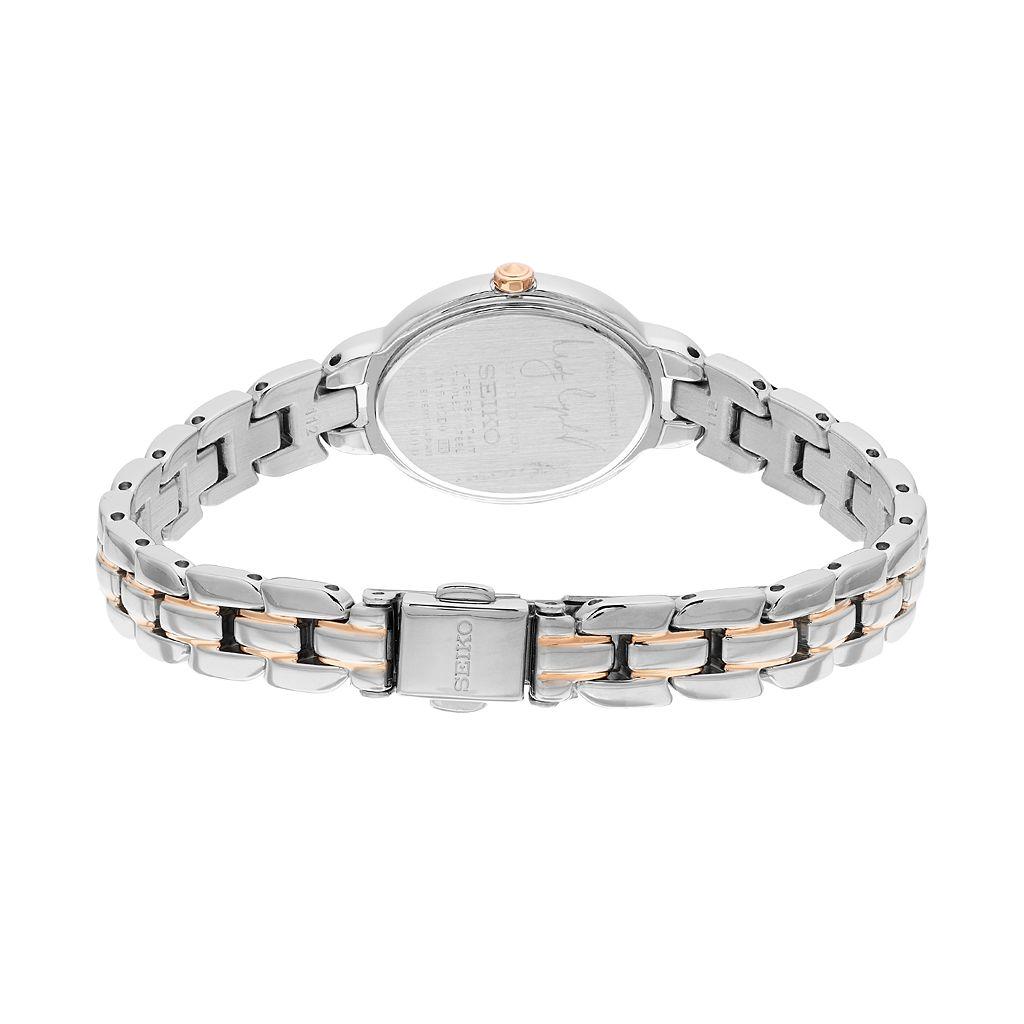 Seiko Women's Misty Copeland Limited Edition Tressia Diamond Two Tone Stainless Steel Solar Watch - SUP327