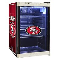 San Francisco 49ers 2.5 cu. ft. Refrigerated Beverage Center