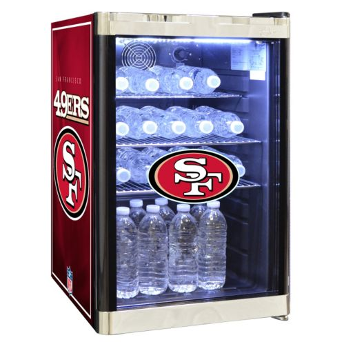 San Francisco 49ers 2.5 cu. ft. Refrigerated Beverage Center