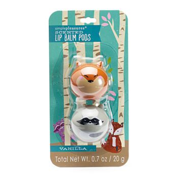 Simple Pleasures 2-pk. Vanilla Lip Balm Pods