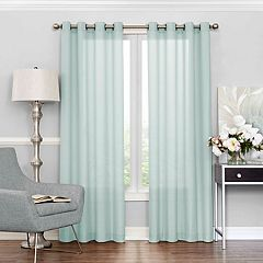 eclipse Liberty UV Light-Filtering Sheer Window Curtain