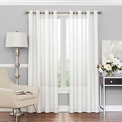 eclipse UV Light-Filtering 1-Panel Liberty Sheer Window Curtain
