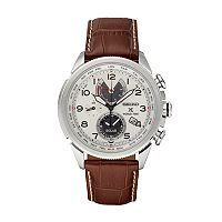 Seiko Men's Prospex Leather Solar World Time Watch - SSC509