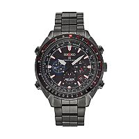 Seiko Men's Prospex Patriots Jet Team Stainless Steel Solar Watch & Coin Set - SSG007
