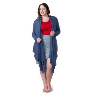 Plus Size Soybu Shelby Wrap Cardigan