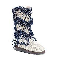 MUK LUKS Shawna Women's Fringe Boots