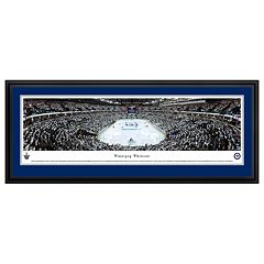 Winnipeg Jets Hockey Arena Whiteout Framed Wall Art