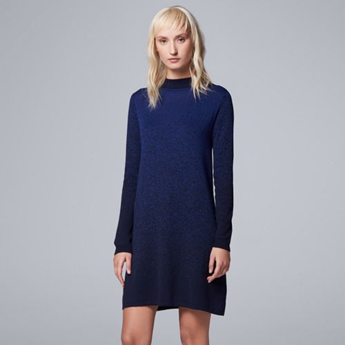ae893ff429 Women s Simply Vera Vera Wang Ombre Sweaterdress