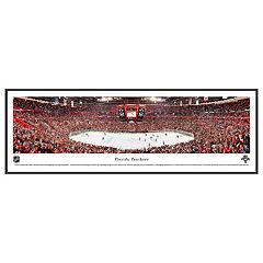 Florida Panthers Hockey Arena Framed Wall Art