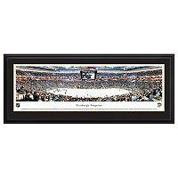 Pittsburgh Penguins Hockey Arena Center Ice Framed Wall Art