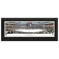 Pittsburgh Penguins Hockey Arena Center Ice Framed Wall Art