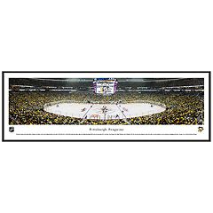 Pittsburgh Penguins Hockey Arena Framed Wall Art