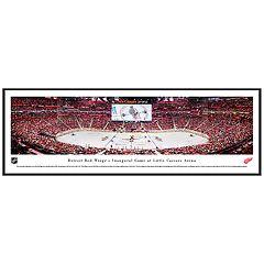 Detroit Red Wings Hockey Arena Framed Wall Art