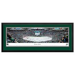 Dallas Stars Hockey Arena Framed Wall Art