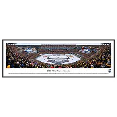 Boston Bruins Hockey Arena 2016 Winter Classic Framed Wall Art