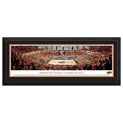 Oklahoma State Cowboys Basketball Arena Framed Wall Art