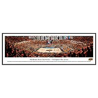 Oklahoma State Cowboys Basketball Arena Framed Wall Art