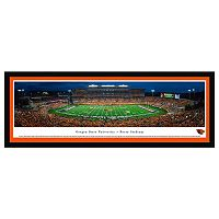 Oregon State Beavers Football Stadium Framed Wall Art