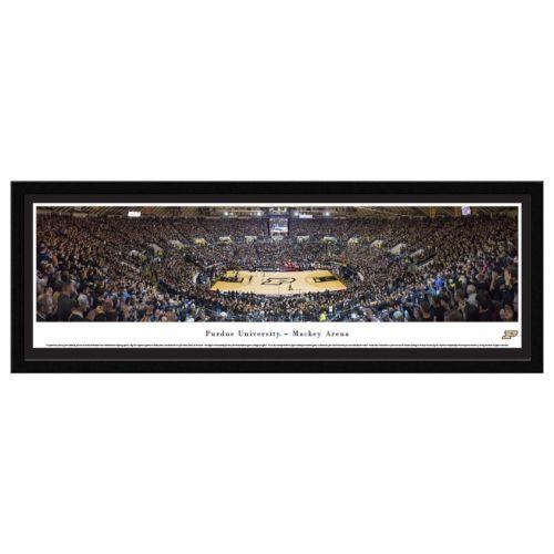 Purdue Boilermakers Basketball Arena Framed Wall Art