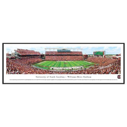 South Carolina Gamecocks Football Stadium Framed Wall Art