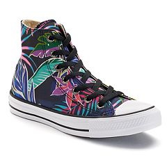 Adult Converse Chuck Taylor All Star Tropical Print High-Top Sneakers by