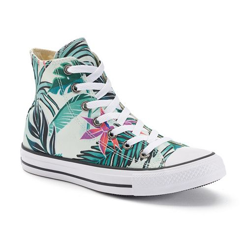df458a5094bfe3 Adult Converse Chuck Taylor All Star Tropical Print High-Top Sneakers