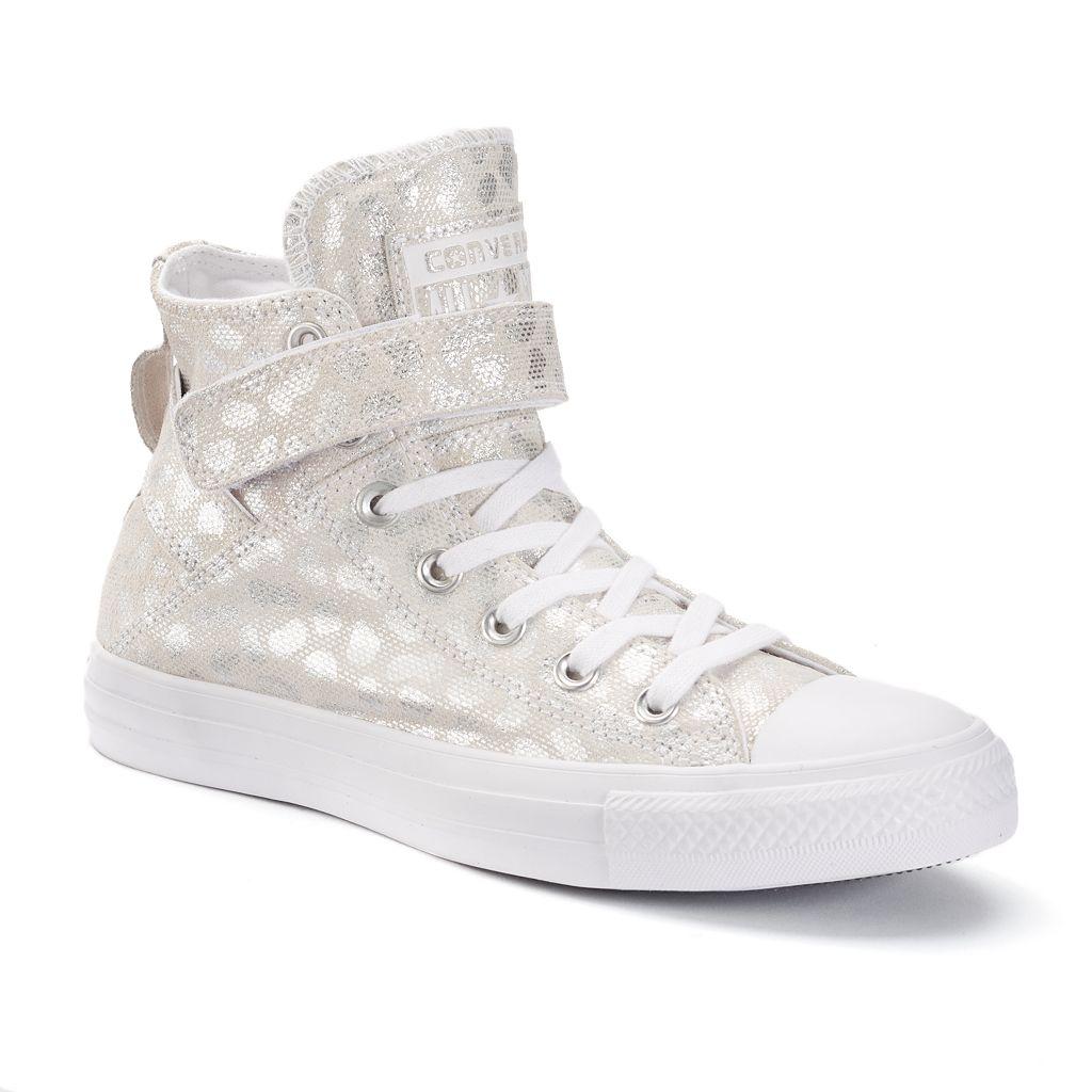 Women's Converse Chuck Taylor All Star Brea Animal Print High-Top Sneakers