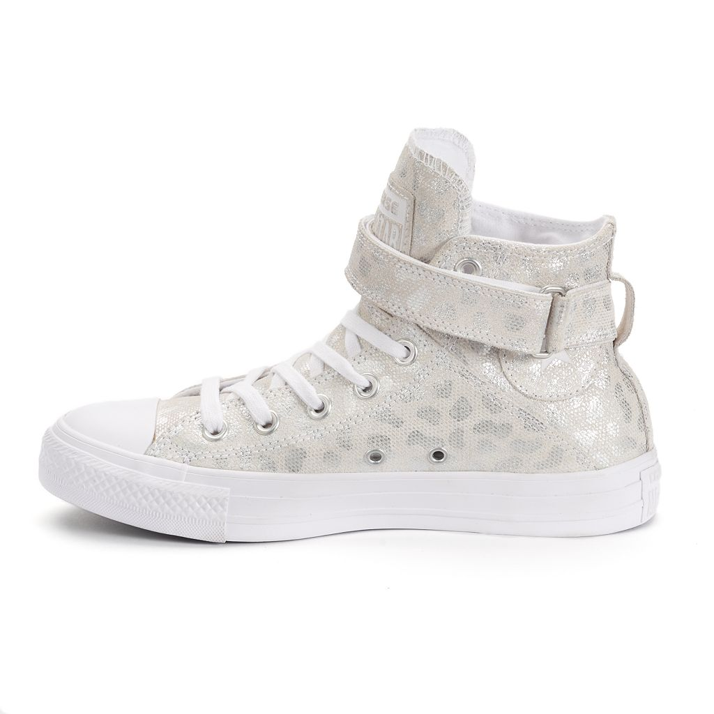 Women's Converse Chuck Taylor All Star Brea Animal Print High-Top Sneakers
