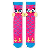 Girls 4-16 3D Animal Knee-High Socks