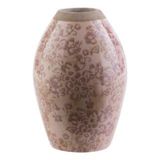 """Decor 140 Jucac 8"""" x 5"""" Ceramic Floral Vase"""