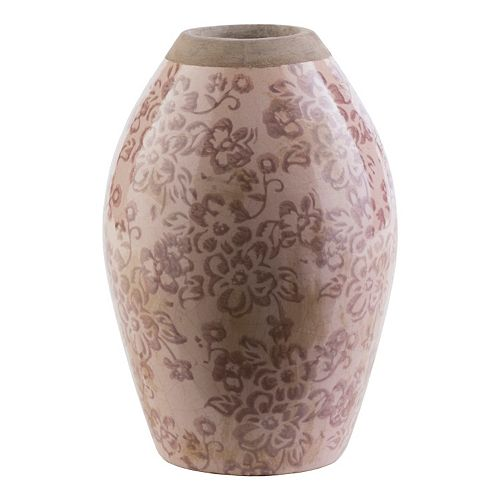 "Decor 140 Jucac 8"" x 5"" Ceramic Floral Vase"