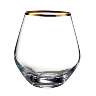 Fitz & Floyd Michel 4-pc. Stemless Wine Glass Set