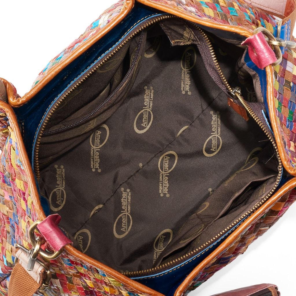 AmeriLeather Porter Leather Tote
