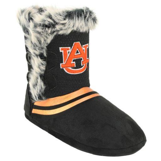 Women's Auburn Tigers Mid-High Faux-Fur Boots