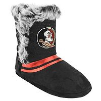 Women's Florida State Seminoles Mid-High Faux-Fur Boots